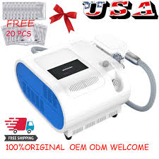 Professional Fat Reduction System Led Light Belt Fat Freezing Cold Slimming Home Spa Machine Handles Body Shape Cool Sculpting