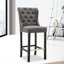 quality bar stools. Perfect Quality Best Quality Furniture Grey Linen Button Tufted Barstool With Nailhead Trim With Bar Stools I