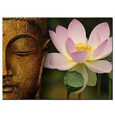 image is loading framed buddha lotus flower religious canvas prints picture  on lotus flower canvas wall art with framed buddha lotus flower religious canvas prints picture wall art