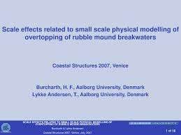 Breakwater Design Ppt Ppt Scale Effects Related To Small Scale Physical