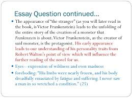letters chapters made by group ppt  11 essay question continued