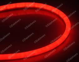 flexible lighting strip led. tube style red flexible brake light strip drl led tail flexi tube lighting led b