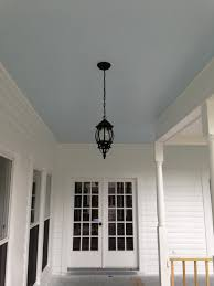 my blue porch ceiling the color is atmospheric from sherwin williams