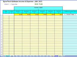 Free Business Expense Spreadsheet Simple Spreadsheet Templates