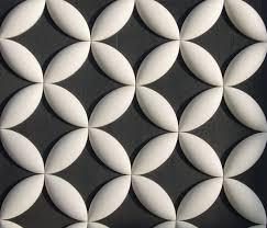 Circle Tiles Flower Circle Pattern Ceramic Tiles From Kenzan Architonic