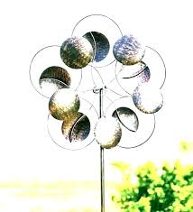 windmill yard art spinning hanging stylish garden spinners and decor wind spinner outdoor metal kinetic home