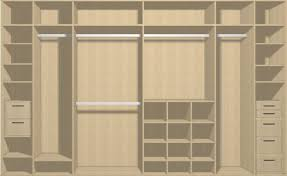 the amount of doors in your sliding wardrobe depends on your dimensions here is a guide