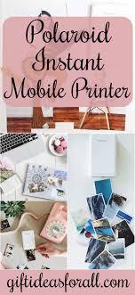 polaroid zip instant mobile printer gifts giftideas giftforher wife gifts printer