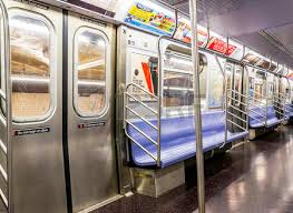 inside subway train. Beautiful Inside Inside An Empty New York City Subway Train Stock Photo  27343981 With C