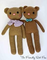 Crochet Teddy Bear Pattern Extraordinary 48 Free Crochet Teddy Bear Patterns ⋆ Crochet Kingdom