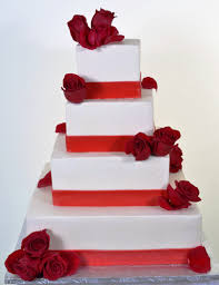 Wedding Cakes With Bands Of Color Wedding Cakes Fresh Bakery