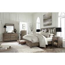 gray king bedroom sets. beverly 6-piece king mirrored bedroom set gray sets