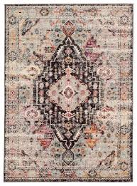 jaipur living in farra ide01 brown pink area rug