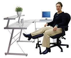 elevate support your legs at work with ergonomic under desk leg rest intended for leg rest for office chair