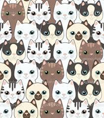 cute cat pattern wallpaper. Brilliant Cat Cat Pattern Wallpaper Cute Iphone Wallpapers  For Ipad With Wallpaper Pinterest