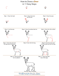 Small Picture Coloring Pages How Do You Draw A Deer Head Step by step Deers