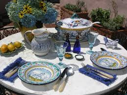 Italian Table Setting Tuscan Table Setting Visitsitaly All About Italian Wine