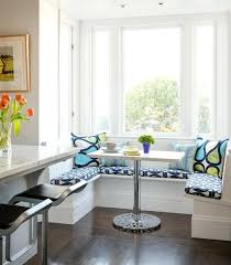 breakfast area furniture. Small Breakfast Nook Furniture Nooks Contemporary Banquette In Blue And Green Kitchen . Area N