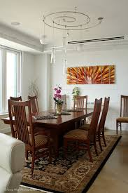 track lighting dining room. Custom Track Lighting Accents The Dining Space Contemporary-dining-room Room H