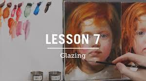 oil paint glazing recipe