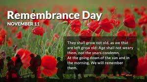 Remembrance Day Sayings Images Pictures