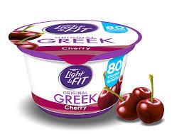 Yoplait Light And Fit Greek Yogurt Cherry Greek Yogurt Light Fit