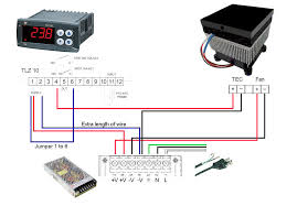 "electracoolâ""¢ tcp 50 tcp 100 cold plate wiring instructions picture of layman s wiring schematic for tlz10 to tcp50 jpeg"