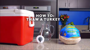 Butterball Turkey Defrost Chart How To Safely Thaw A Frozen Turkey