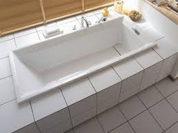 rectangular built in acrylic bathtub 2nd floor bathtub by duravit