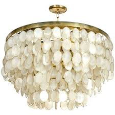 capiz shell chandelier captivating shell chandelier for diy wax paper capiz shell chandelier