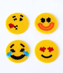 Emoji Perler Bead Patterns Enchanting Fun Emoji Perler Bead Patterns AllFreeKidsCrafts