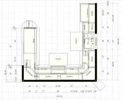 Simple Kitchen Layout kitchen floor plan design home design 4073 by uwakikaiketsu.us