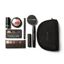 focallure 8 pieces gift makeup kit all in one makeup kit for gift personal use including eyeshadow lipstick blush in makeup sets from beauty health on