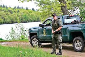vermont state game warden richard watkin is shown at the harriman reservoir in wilmington on tuesday