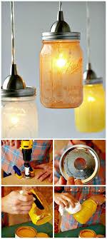 how to make glass mason jar pendant lights diy mason jar crafts