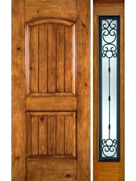 single front doors with glass alder rustic plain panel single entry door glass doors front with