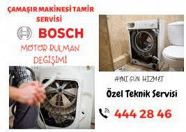 Bosch Çamaşır Makinesi Motor Rulman Değişimi 444 28 46