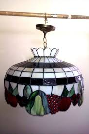 tiffany hanging chandelier meyda dinning kitchen den fruit stained glass lamp