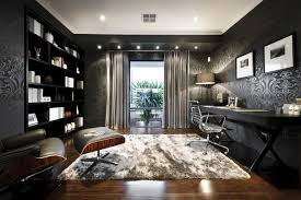 wallpaper for home office. contemporary home office with lighted soffit interior wallpaper builtin bookshelf crown for o