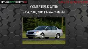 How To Replace Chevrolet Malibu Key Fob Battery 2004, 2005, 2006 ...