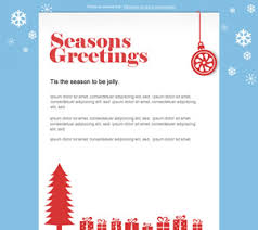 New Festive And Free Christmas Email Marketing Templates