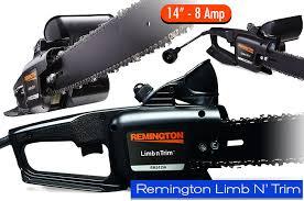 smallest gas chainsaw. remington-limb-n-trim-best-small-electric-chainsaw- smallest gas chainsaw