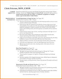 Example Social Work Resume Social Work Resume Examples Social