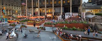 the pennsy is an innovative chef driven food hall with a large outdoor beer garden next to madison square garden and penn station