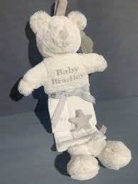 Teddy Bear Chart Personalised Teddy Bear Plush Height Chart 120cm