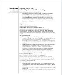 Customer Service Resumes Templates Free Sample Resumes For Customer ...