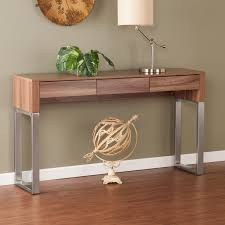 foyer table with storage. Full Size Of Walnut Or Brushed Nickel Southern Enterprises Maeve Console Table Modern . Foyer With Storage