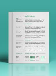 Pretty Resume Template Magnificent Gallery Of 48 Beautiful Free Resume Cv Templates In Ai Indesign Psd