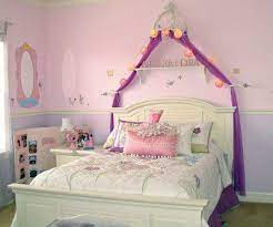 girl s princess themed bedroom kids