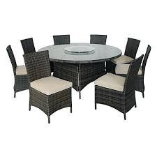 kontiki monte carlo 9 piece round dining set